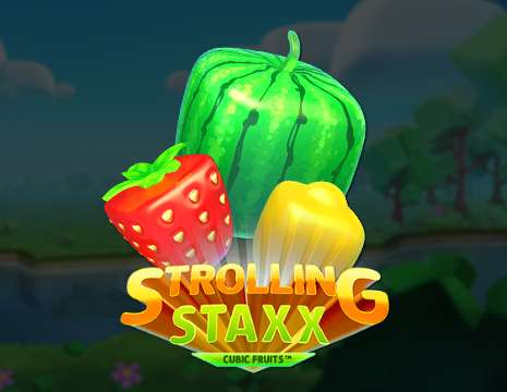Strolling Staxx Cubic Fruits videoslot Netent